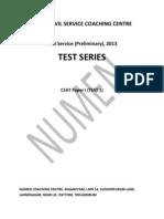 Csat Paper 1