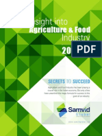 Insight into Agriculture & Food Sector India