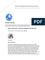 Ibnu Khaldun. Bapak Sosiologi Islam