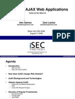 iSEC-Attacking AJAX Applications.bh2006