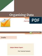 6Organizing Data