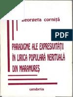 Paradigme ale expresivitatii in lirica populara nerituala din Maramures