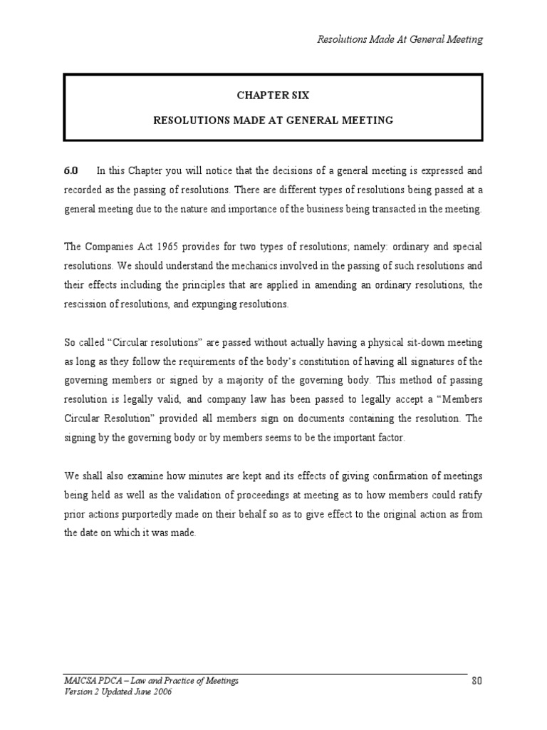 Students Manuals Pdca Lpm C06 Board Of Directors Liquidation