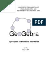 Apostila de GeoGebra (UFPR, Verão de 2009)