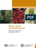 Herbs Spices and Essential Oils