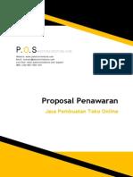Proposal Penawaran Jasa Pembuatan Toko Online P.O.S