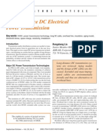 Long-Distance DC Electrical