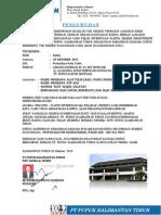 Surat Panggilan Tes Pt. Pupuk Kalimantan Timur