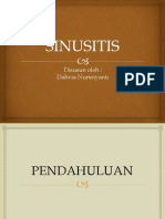 PPT Sinusitis Dahvia