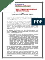 Nasihat Bagi Pemuda Muslim Dan Penuntut Ilmu
