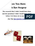 Before You Have Lasik Eye Surgery