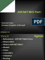 ASP.net Mvc Part 1