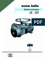 Actuator Catalogue