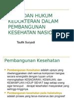 Bio-Etika Dalam Pembangunan Kesehatan Indonesia