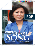 Positive ad for Shari Song