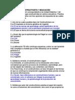 PSICOPEDAGOGÍA CONSTRUCTIVISTA EN CENTROS EDUCATIVOS PRÁCTICA DOCENTE, cuestionarios