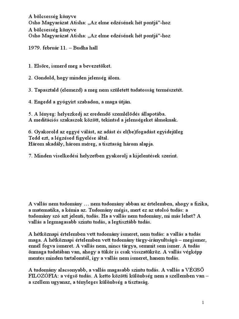 Péld. 1. | Biblia. A Magyar Biblia Tanács fordítása | Kézikönyvtár