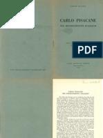Lelio Basso - Carlo Pisacane Nel Risorgimento Italiano-1932