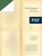 Aldo Romano - Carlo Pisacane Pensatore Politico e Teorico Della Guerra1936