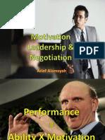 Leadership,Konflik, Negosiasi