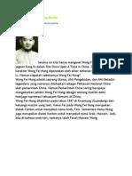 Wong Fei Hung Seorang Muslim