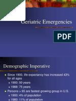 Geriatric Emergencies4108