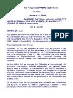 7. Liga Ng Mga Barangay vs Atienza