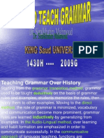 HOW TO TEACH GRAMMAR  1.ppt