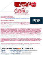Coca Cola Winning Notification - Copy