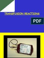 Transfusion Reactions