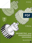 Geometric and Engineering Drawing - Second Edition by K.Morling