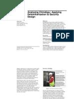 AnalysingChindo ̄gu:Applying Defamiliarisation to Security Design