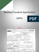 Welding Procedures Specification