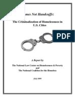 Homes Not Handcuffs 1