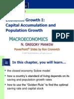 Macroeconomics - Mankew - Chapter 7 - Economic Growth (1)