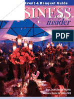 Business Insider Magazine - Meeting Event & Banquet Guide 2008-2009