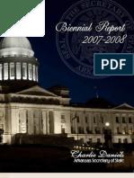 Biennial Report 2007 - 2008