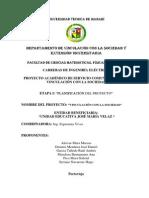 Modelo de Proyecto Vinculacion Estadistica