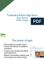Towards a Robot App Store