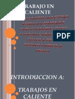 EXPOSICIÓN DE TRABAJO EN CALIENTE