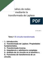 Análisis de redes con Laplace-signed