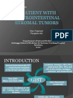 A Patient With Gastrointestinal Stromal Tumors-final