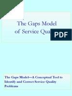 Gaps Model 2013