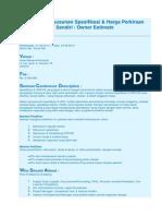 Metode Penyusunan Spesifikasi