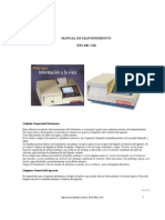 BioSystems BTS-330,310 Analyzer - Maintenance Manual (Es)