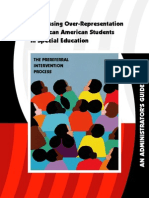 Addressing Over Representation Africanamerican Guide