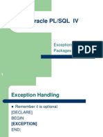 PLSQL PACKAGE