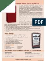 3 Phase Solar Inverter