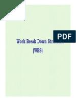 WBS -PMan Course