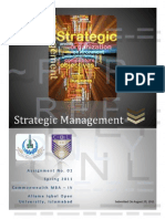 67673439 5574 Strategic Management Assignment No 01